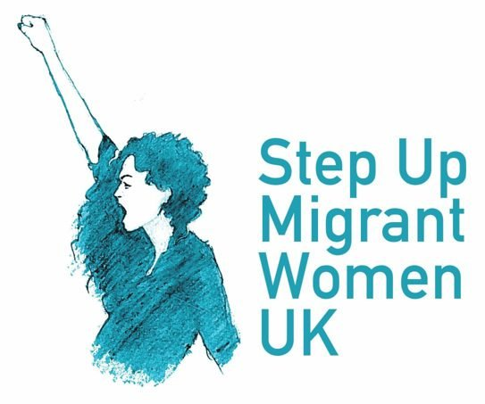 Step Up Migrant Women Logo